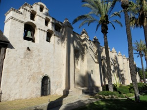 San Gabriel Arcangel, the fourth California mission, photo by Tom McLean