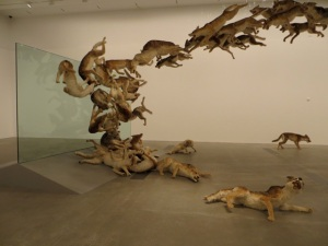 "Cai Guo Qiang, ""Head On"" (2006). Photo by Tom McLean"