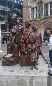 Kindertransport - The Arrival (photo by the author)