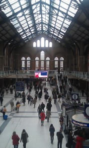 Liverpool Street Station (photo by the author)