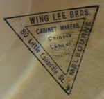 """""""Chinese Labour"""" stamp, Golden Dragon Museum"""