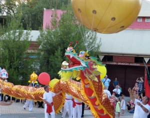 Fei Loong, Bendigo's newest Dragon