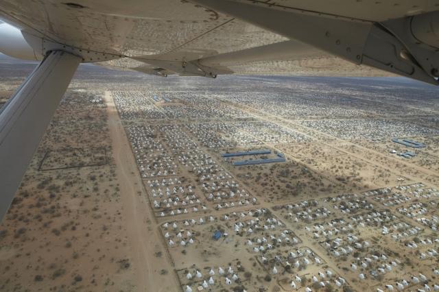 Dadaab from the air.