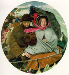Ford Madox Brown, The Last of England. 1855. Oil on panel. Birmingham Museums and Art Gallery.