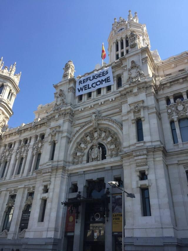City Hall, Madrid. Photo by Paul Stern.