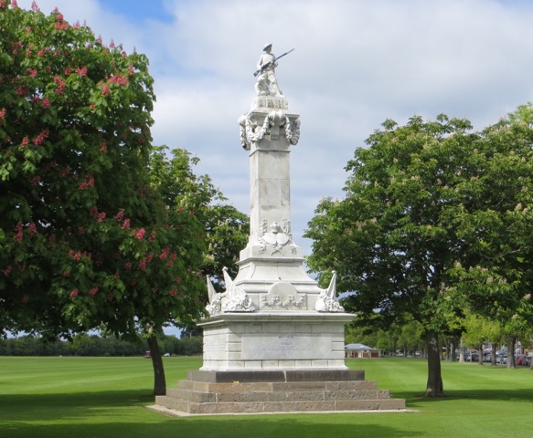 The South African War Memorial, Dunedin, New Zealand