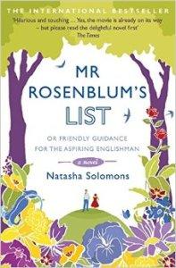 Mr Rosenblum's List- or Friendly Guidance for the Aspiring Englishman