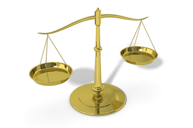 Scales of justice. Image by stockmonkeys.com